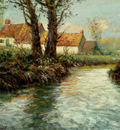 Thaulow Frits House By The