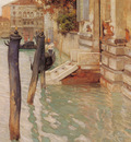 Thaulow Fritz On The Grand Canal Venice