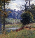 Steele Theodore Clement Along the Creek aka Zionsville
