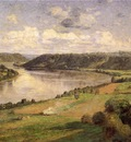 Steele Theodore Clement The Ohio river from the College Campus Honover