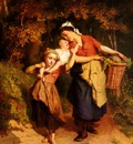 Gerard Theodore Returning From The Market