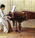Robinson Theodore At the Piano