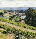Robinson Theodore From the Hill Giverny