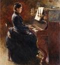 Robinson Theodore Girl at Piano
