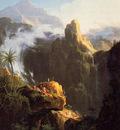 Cole Thomas Landscape Composition Saint John in the Wilderness