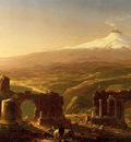 Cole Thomas Mount Etna from Taormina