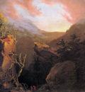 Cole Thomas Mountain Sunrise Catskill