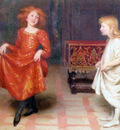 Thomas Cooper Gotch TheDancingLesson