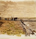 Eakins Thomas Drawing the Seine