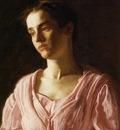 Eakins Thomas Portrait of Maud Cook