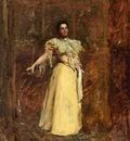 Eakins Thomas Study for The Portrait of Miss Emily Sartain