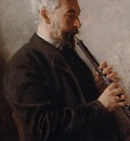 Eakins Thomas The Oboe Player aka Portrait of Benjamin