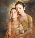 Artists daughters with a cat EUR