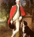 Gainsborough Thomas Portrait Of Colonel John Bullock