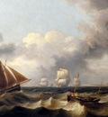 Luny Thomas Shipping Off The Coast