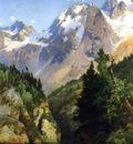 Moran Thomas A Rocky Mountain Peak Idaho Territory
