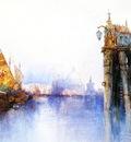 Moran Thomas Venetian Canal Scene