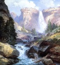 Moran Thomas Waterfall in Yosemite2
