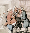 Rowlandson Thomas The Doctors Consultation