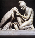 THORVALDSEN Berthel Ganymede Waters Zeus As An Eagle