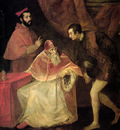 titian pope paul iii and nephews