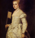 titian woman in white