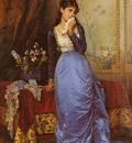 Toulmouche Auguste The Letter