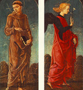 TURA Cosme St Francis Of Assisi And Announcing Angel