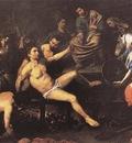 VALENTIN DE BOULOGNE Martyyrdom Of St Lawrence