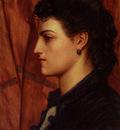 Prinsep Valentine Cameron Head Of An Italian Girl