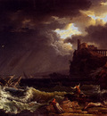 Vernet Claude Joseph A shipwreck In A Stormy Sea By The Coast