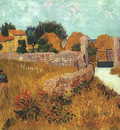 van gogh vincent farmhouse in provence
