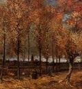Van Gogh Vincent Lane with Poplars