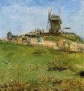 Van Gogh Vincent Le Moulin de la Gallette3
