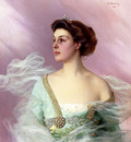 Corcos Vittorio Matteo Portrait Of A Lady