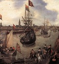 VENNE Adriaen Pietersz van de The harbour Of Middelburg
