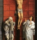 Weyden Christus on the Cross with Mary and St John c1460