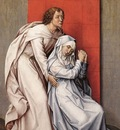 Weyden Crucifixion Diptych left panel