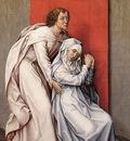 Weyden Crucifixion Diptych left panel