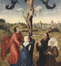 Weyden Crucifixion Triptych central panel