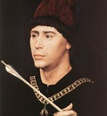 Weyden Portrait of Antony of Burgundy c1461