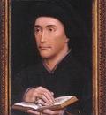 Weyden Portrait of a Man Guillaume Fillastre