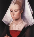 Weyden Portrait of a Woman c1464