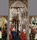 Weyden Seven Sacraments Altarpiece