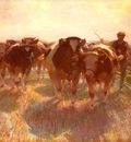 Zugel Heinrich von Viehtrieb Auf Der Inselstrasse