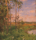 Palmer Walter Launt At the Edge of the Pond