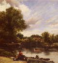 Watts Frederick William Along The River