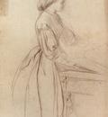 Watts George Frederick Portrait Of A Lady Possibly Julia Jackson