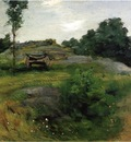 Weir Julian Alden Connecticut Scene at Branchville
