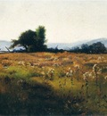 Metcalf Willard L Mountain View from High Field